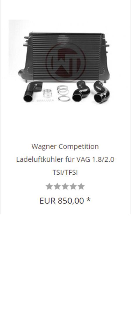 Wagner Tuning Intercooler