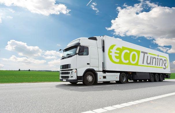 ECO调整卡车和牵引