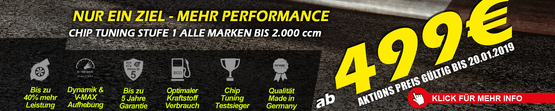 CHIP TUNING LEVEL 1 - ВСЕ БРЕНДЫ К 2000 ccm от 499 €