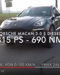 SKN Porsche Macan S Diesel 3.0