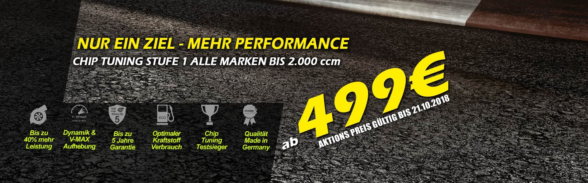CHIP TUNING LEVEL 1 от 499 € *
