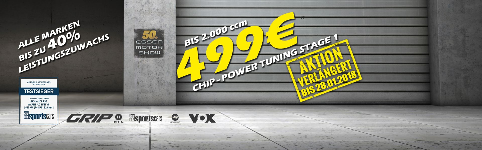 CHN TUNING LEVEL 1 FOR 499€*