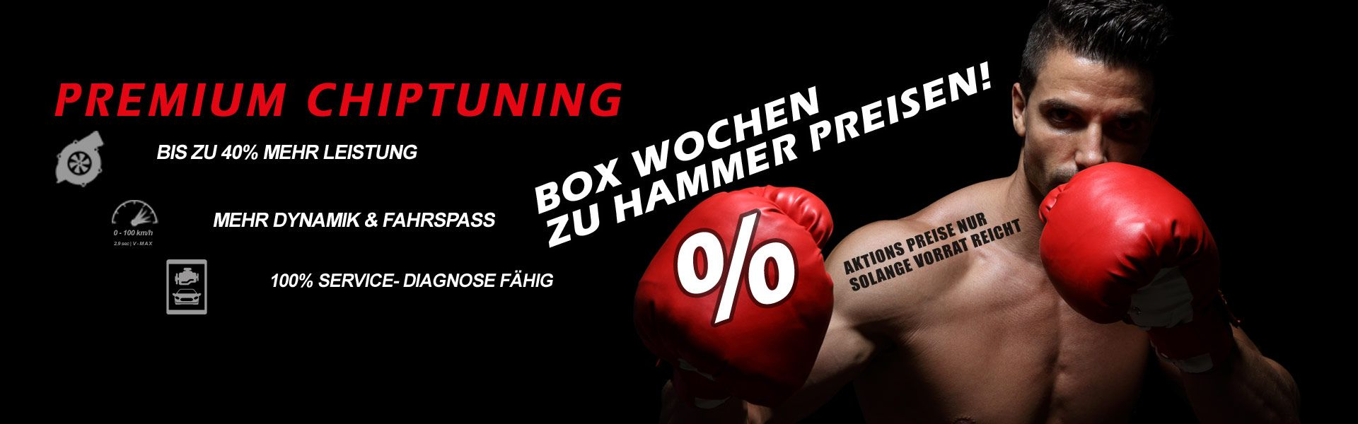 Premium Chip Tuning | BOX weeks at hammer prices