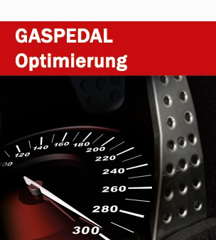 Gaspedal - Softwareoptimierung
