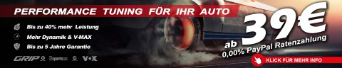 Tuning ab 39€ | 0.00% Paypal RATENZAHLUNG | FINANZIERUNG