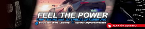 CHIP TUNING inklusive GASPEDALOPTIMIERUNG - LIMITED 20.01.2019