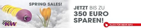 KW Suspension - SPRING SALES Gewindefahrwerk V1 | V2 | V3