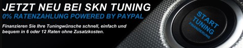 0% Ratenzahlung powered by Paypal