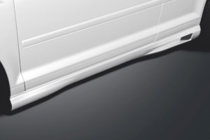 Side skirts - for Audi A3 (8P) Sportback 2009