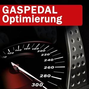 Gaspedal Optimierung ON TOP - sportliche, schnellere Beschleunigung, agileres Ansprechverhalten mittels GASPEDAL TUNING für POWER | ECO75 | ECO Tuning