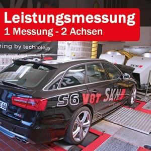 Leistungsmessung im DYNO DOM - 1 Messung | 2 Achsen