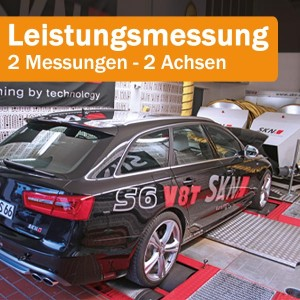 Leistungsmessung im DYNO DOM - 2 Messungen | 2 Achsen